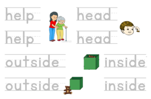 ESL, EFL printable worksheets, Letter tracing, Writing Steve and Maggie Youtube
