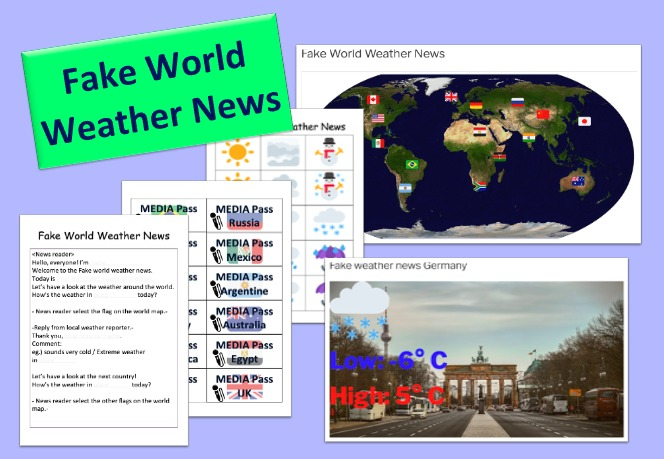 Fake world weather news